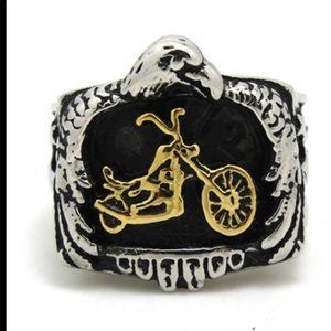 NEW 🔥Size 13 HD Bike Eagle Men's Ring